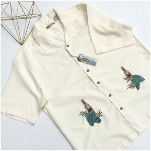 Batik Bay Embroidered Shirt NWT
